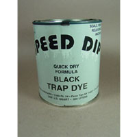 Speed Dip Trap Dye Black Quart